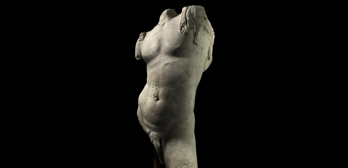 Marble Muscular Torso of Bacchus £80,000 - £100,000