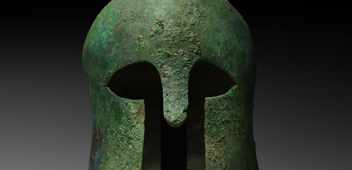 Corinthian Helmet of a Greek Warrior £30,000 - £40,000