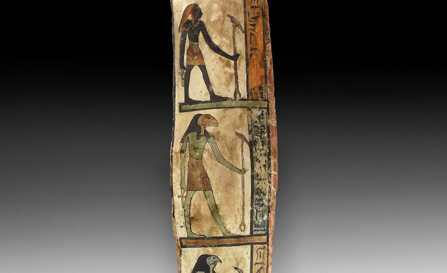 Egyptian Painted Wooden Panel £10,000 - 14,000