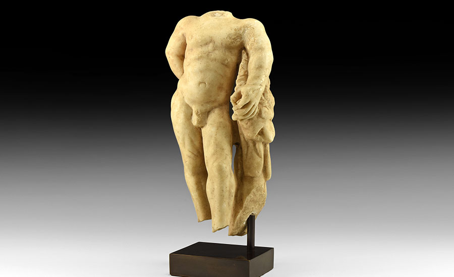 Lot 0107: Roman Marble Statue of Hercules £5,000 - £7,000