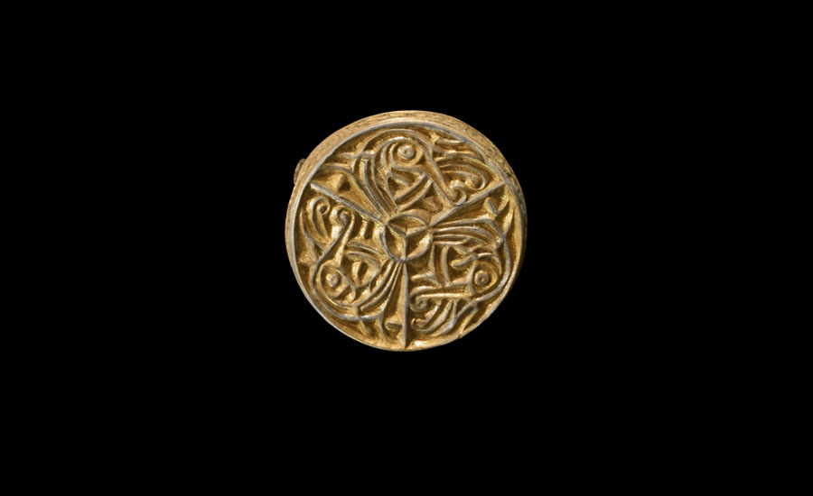 Lot 0456: Viking Gilt Silver Box Brooch £8,000 - £10,000