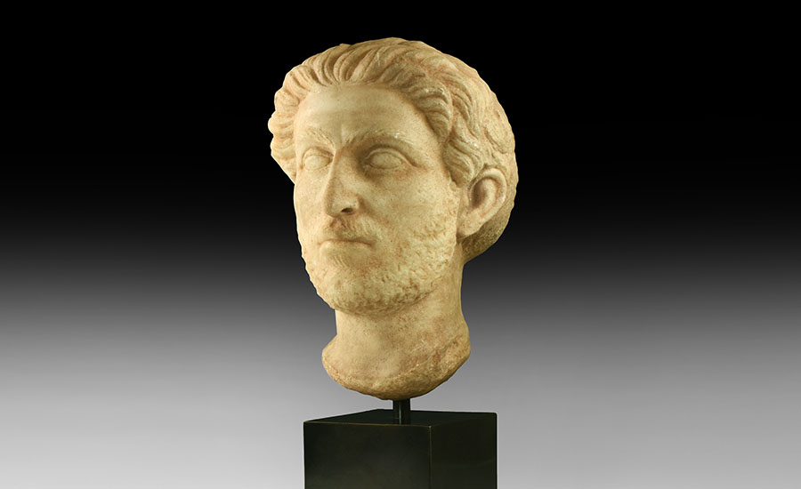 Lot 0105: Roman Marble Head of a Nobleman £8,000 - £10,000