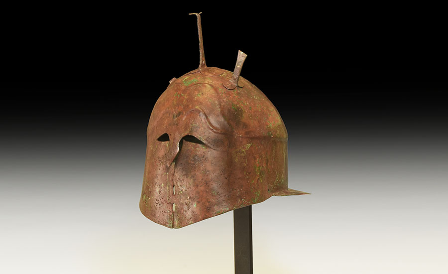 Lot 0175: Greek Apulo-Corinthian Helmet £10,000 - £14,000