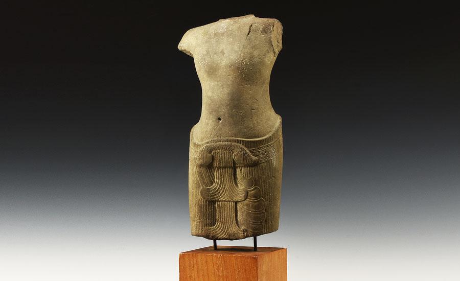 Lot 0405: Cambodian Khmer Kilted Shiva Torso £3,000 - £4,000