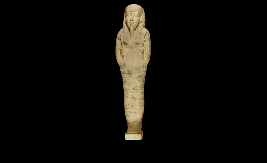 Lot 0001: Egyptian Superb Large Shabti of Horemheb son of Takhaouti £5,000 - £7,000