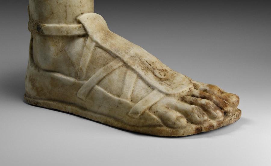 Roman Marble Sandalled Foot £7,000 - 9,000