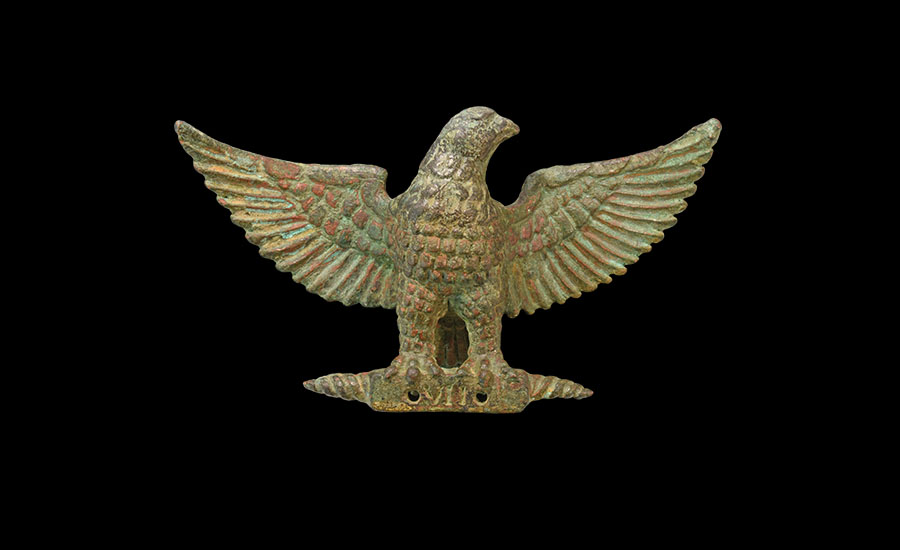 Roman Legion VII Military Standard Finial - Sold for: £37,200