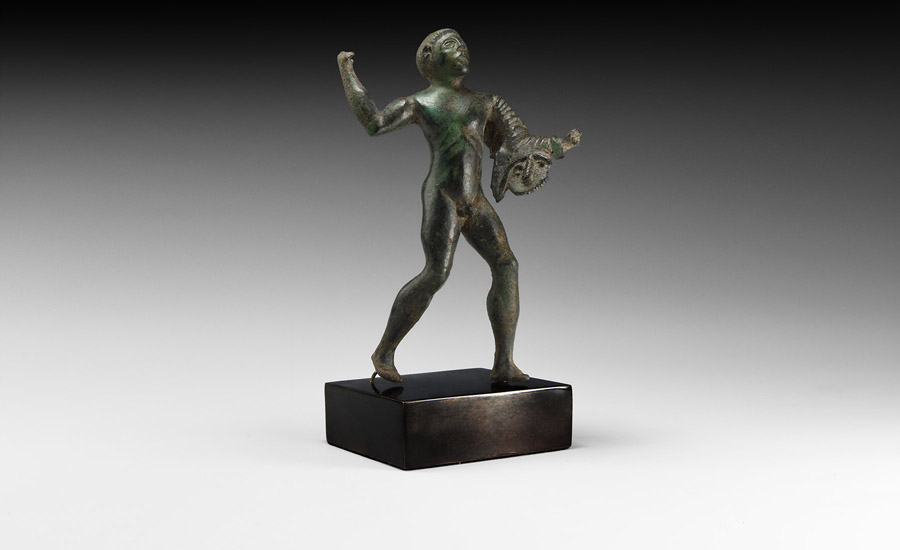 Young Hercules Statuette