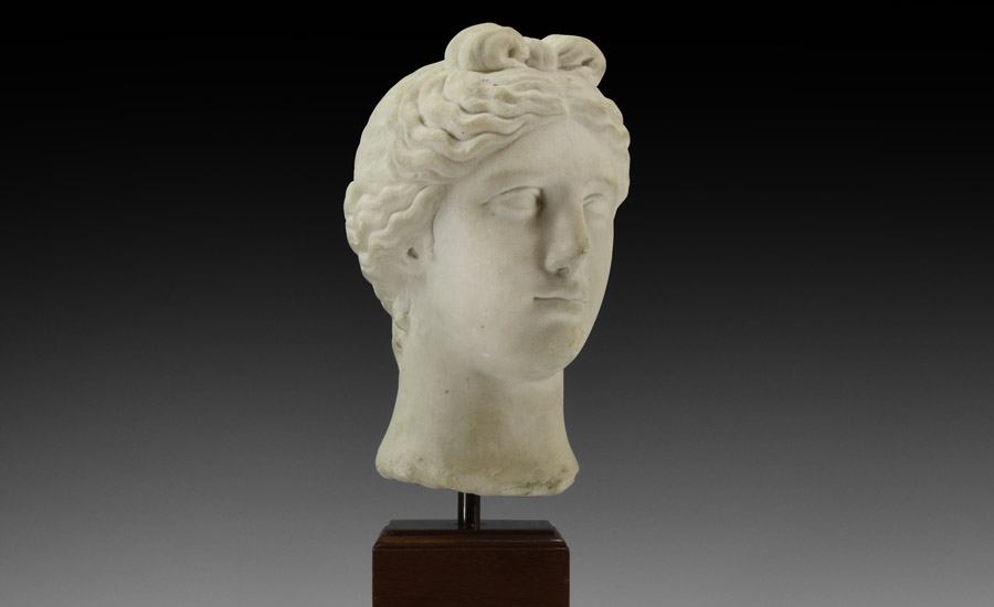 Marble Head of Aphrodite