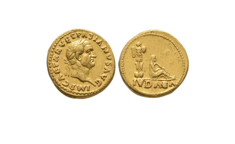 Vespasian - Gold Judea Capta Aureus