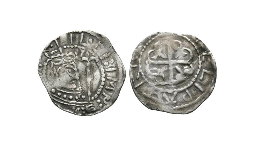 Empress Matilda - Pembroke / Gillapaidrig - Unique Cross Moline Penny