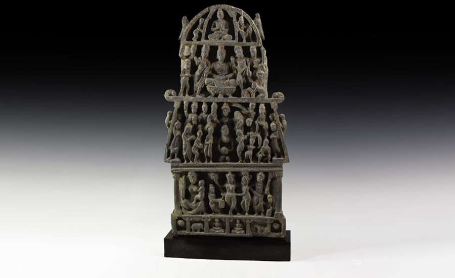 Gandharan Multi-Tier Panel Panel