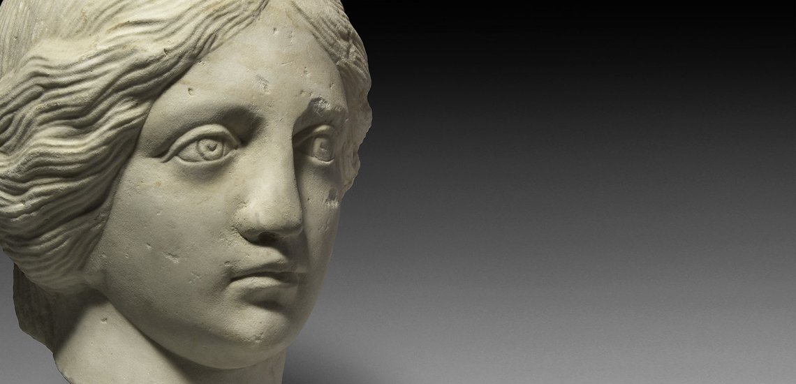 Marble Head of a Nymph £12,000 - £17,000