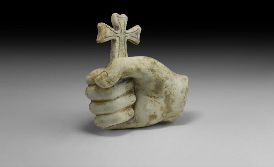 Life-size Roman Statue Hand £8,000-£10,000