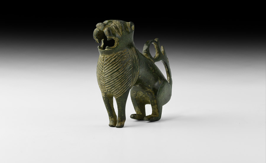 The 'Wenhaston Lion' Animalier Candlestick £3,000-4,000