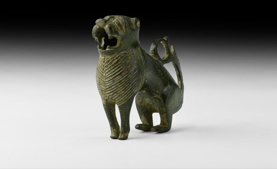 The 'Wenhaston Lion' Animalier Candlestick £3,000-4,000