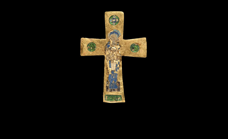 Byzantine Enamelled Gold Cross £5,000-£7,000
