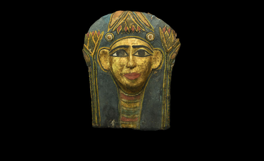 Egyptian Gilt Face Mask £5,000-£7,000
