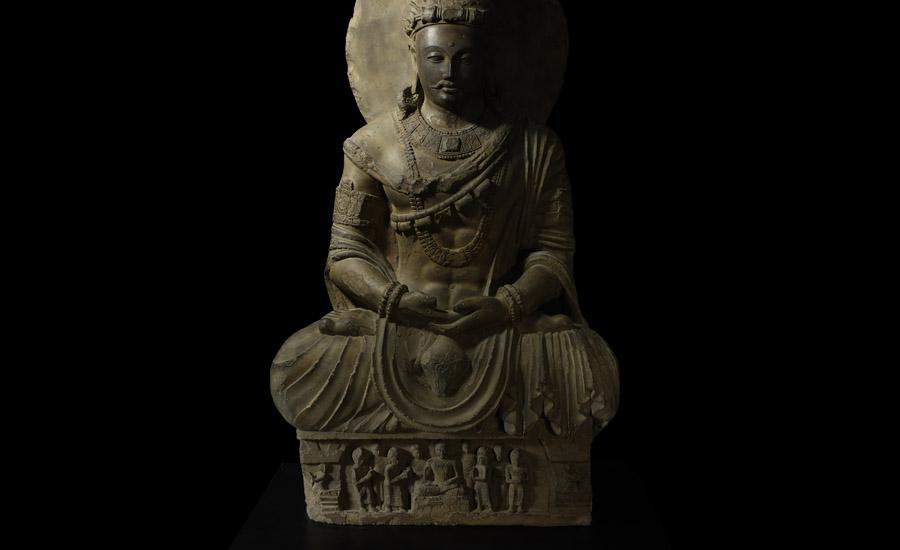 Gandharan Meditating Buddha £15,000 - £20,000