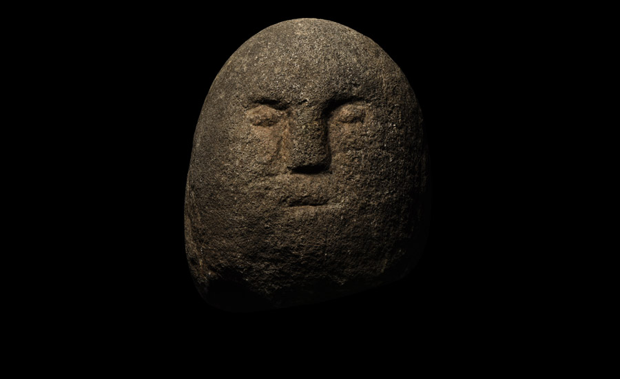 The Ballyarton Irish Celtic Stone Head £15,000 - £20,000
