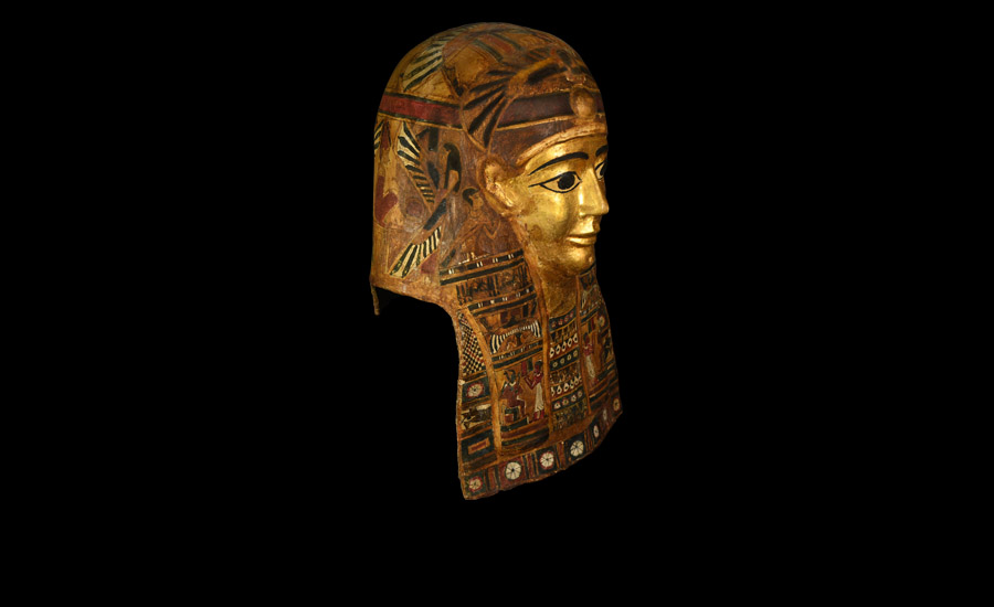 Important Egyptian Gilt Cartonnage Mask £15,000 - £20,000