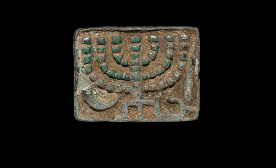 Early Jewish Stamp Seal with Menorah £10,000 - 14,000