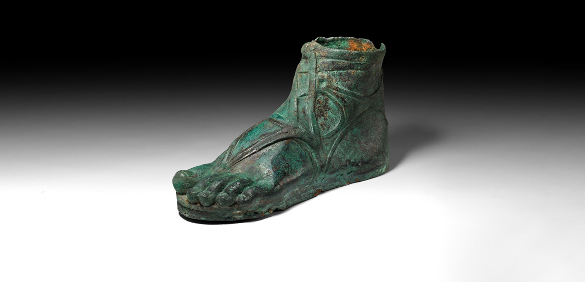 Roman Life-Size Sandalled Foot £15,000 - £20,000
