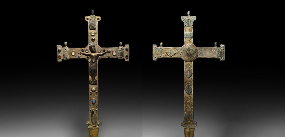 Medieval Limoges Processional Cross £60,000 - £80,000