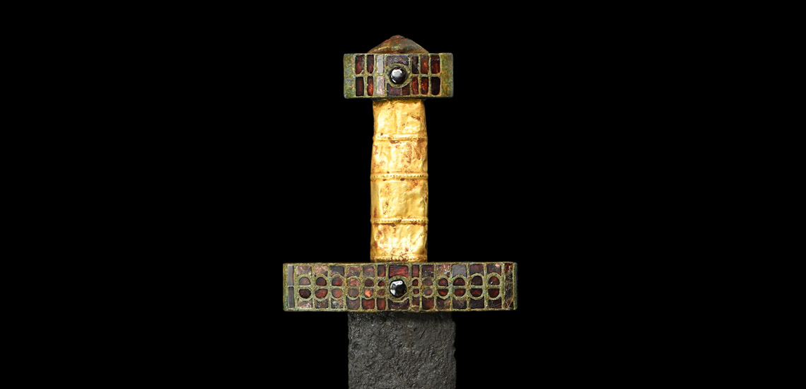Merovingian Sword with Jewelled Hilt £8,000 - £10,000