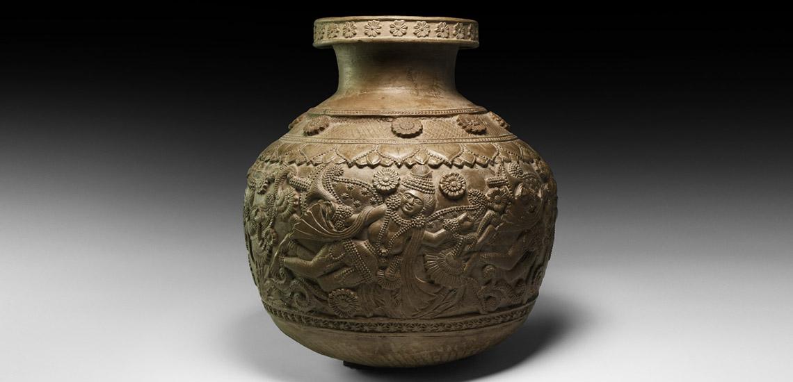 Chandraketugarh Vase £7,000 - £9,000