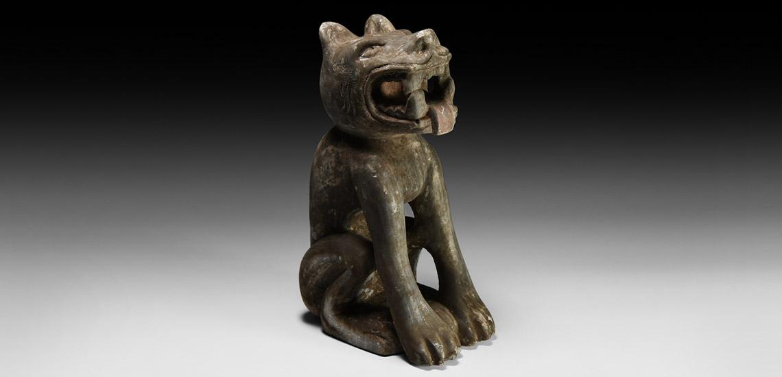 Mesoamerican Seated Jaguar £8,000 - £10,000