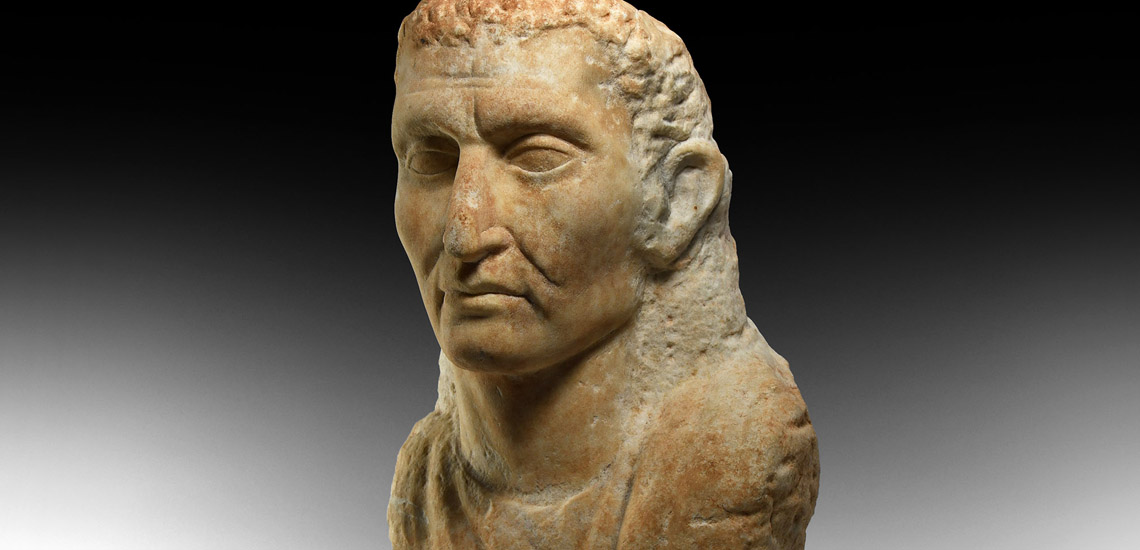 Graeco-Roman Marble Bust £6,000 - £8,000