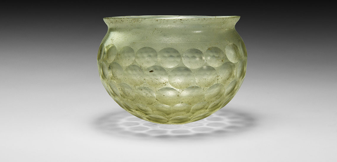 Western Asiatic Sassanian Cut-Glass Cup £4,000 - 6,000