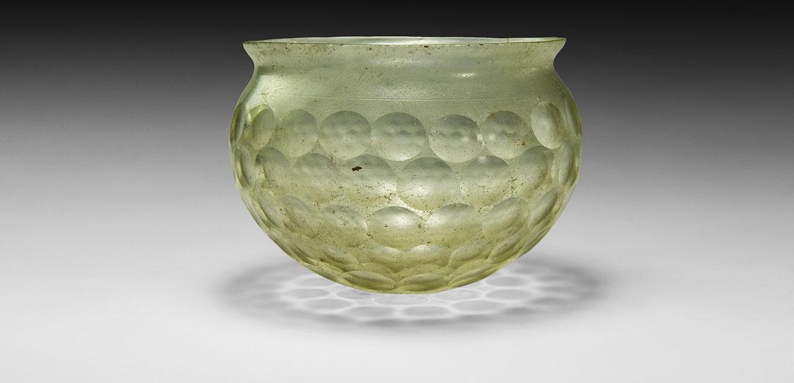 Sassanian Cut-Glass Cup £4,000 - 6,000
