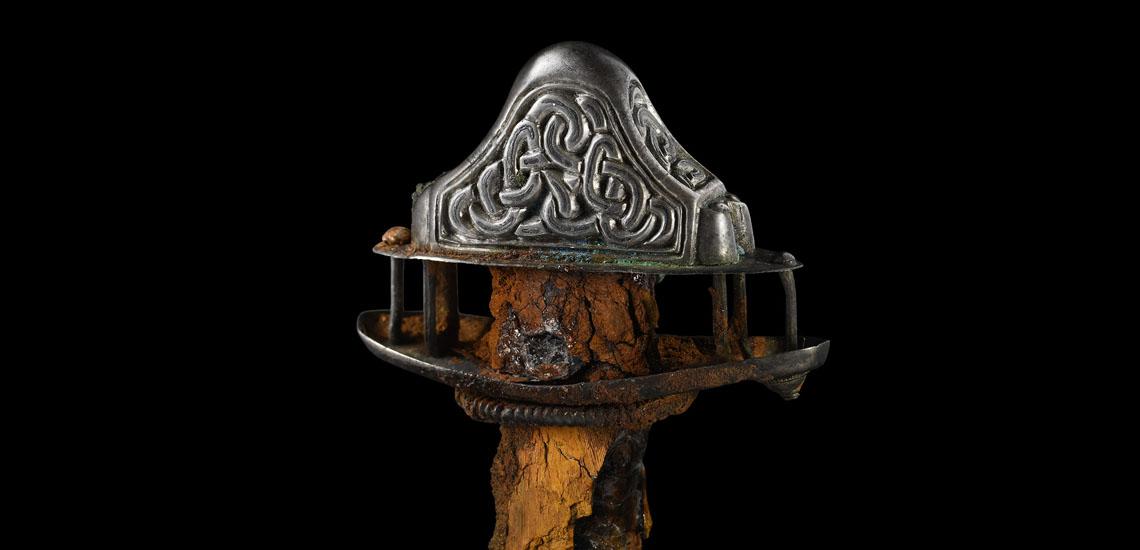 Saxon Silver Sword Pommel Assembly £4,000 - 6,000