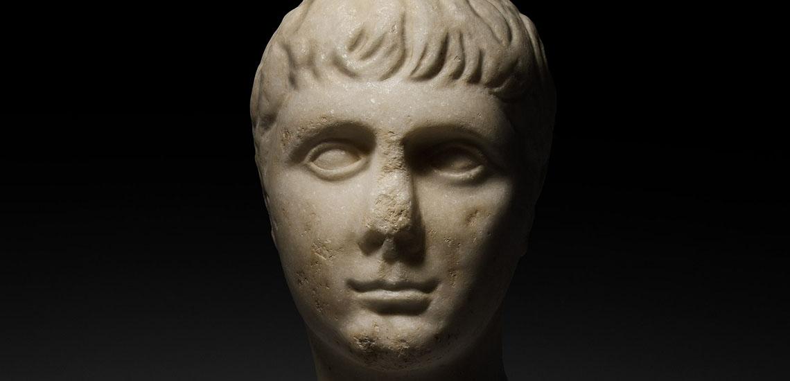 Marble Head of Gaius Caesar £35,000 - 45,000