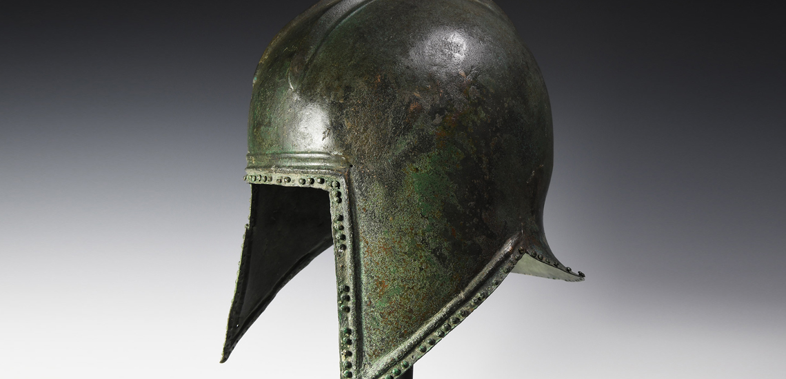 Macedonian Bronze Helmet £18,000 - £24,000
