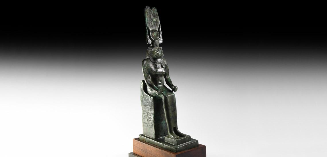 Egyptian Enthroned Wadjet £30,000 - £40,000