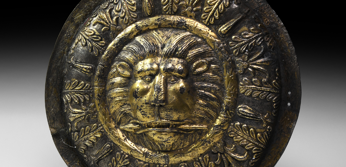 Hellenistic Lion Head Phalera £40,000 -£60,000