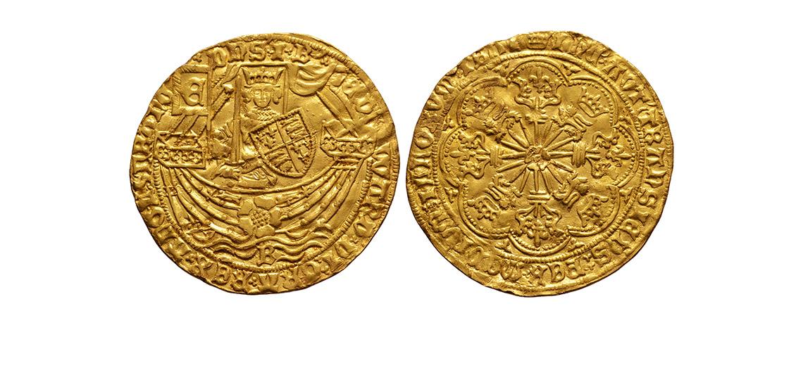 King Edward IV Rose Noble £4,000-£6,000
