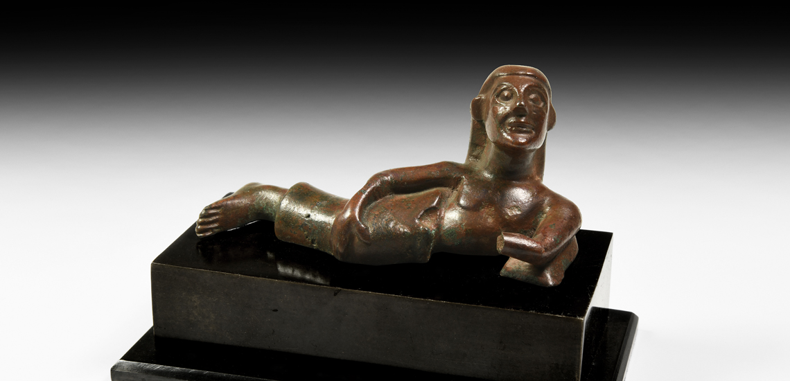 Etruscan Reclining Banqueteer £4,000-£6,000