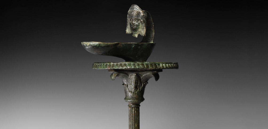 Roman Candelabrum with Theatre Masks £6,000-£8,000
