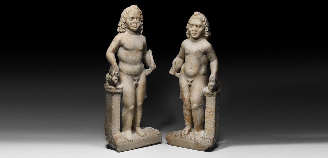 Roman Harpocrates Statue Pair £25,000 - £35,000