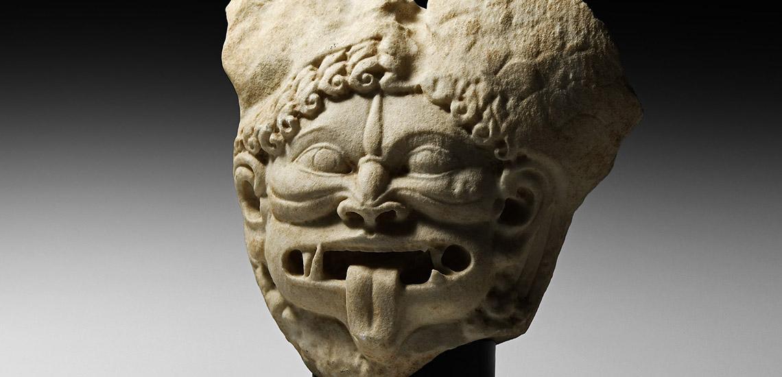 Greek Gorgon Head £15,000 - £20,000