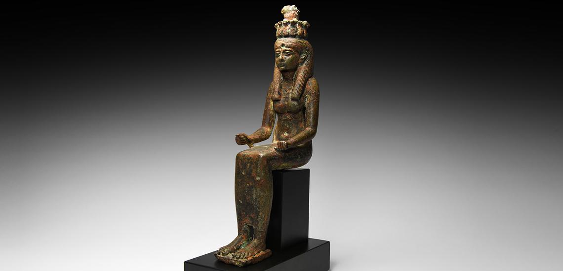 Egyptian Seated Nehemet-aui Statuette £5,000 - £7,000