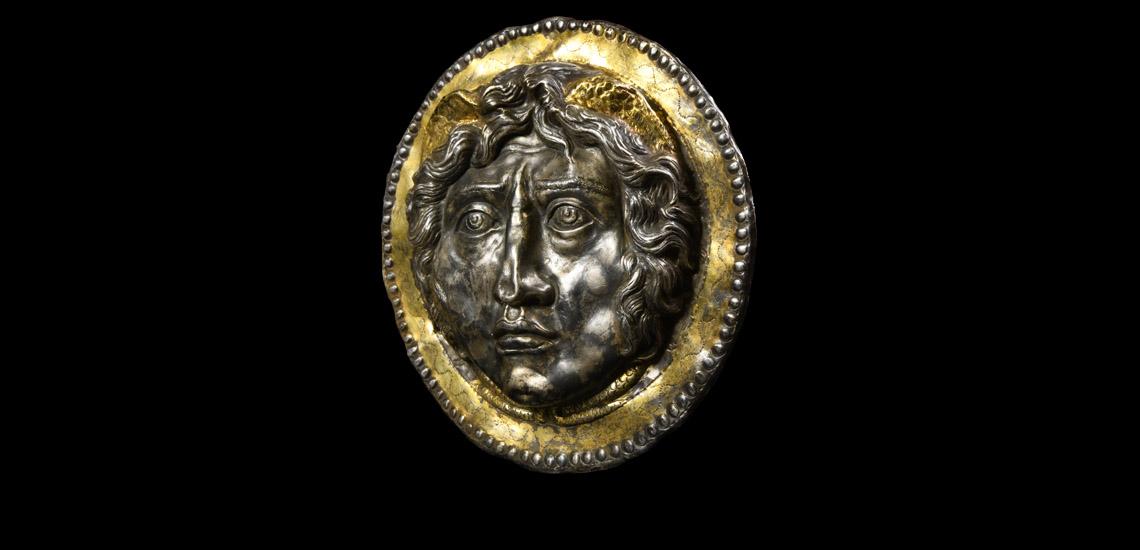 Roman Phalera with Medusa £1,800 - £2,400