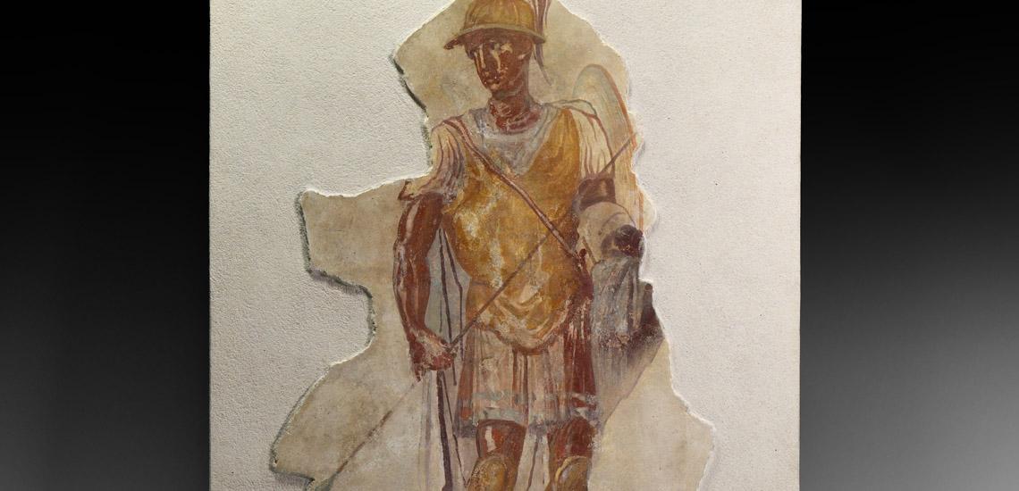 Fresco of Roman Military Commander £25,000 - £35,000