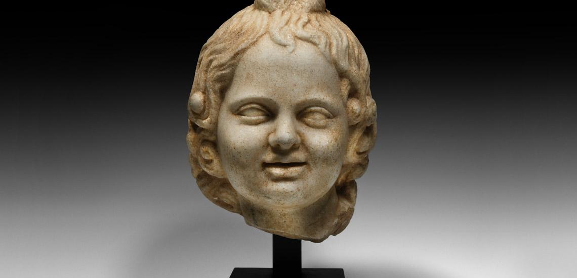 Roman Head of Harpocrates £20,000 - £30,000