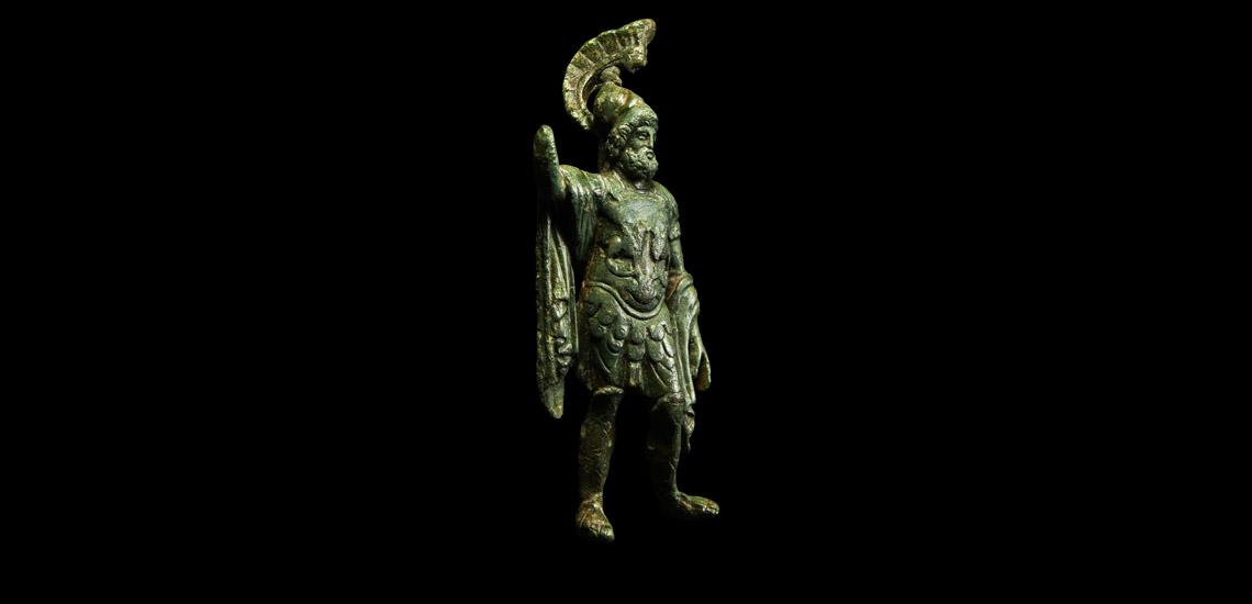 'The Oxshott' Military Statuette of Mars £1,500 - £2,000