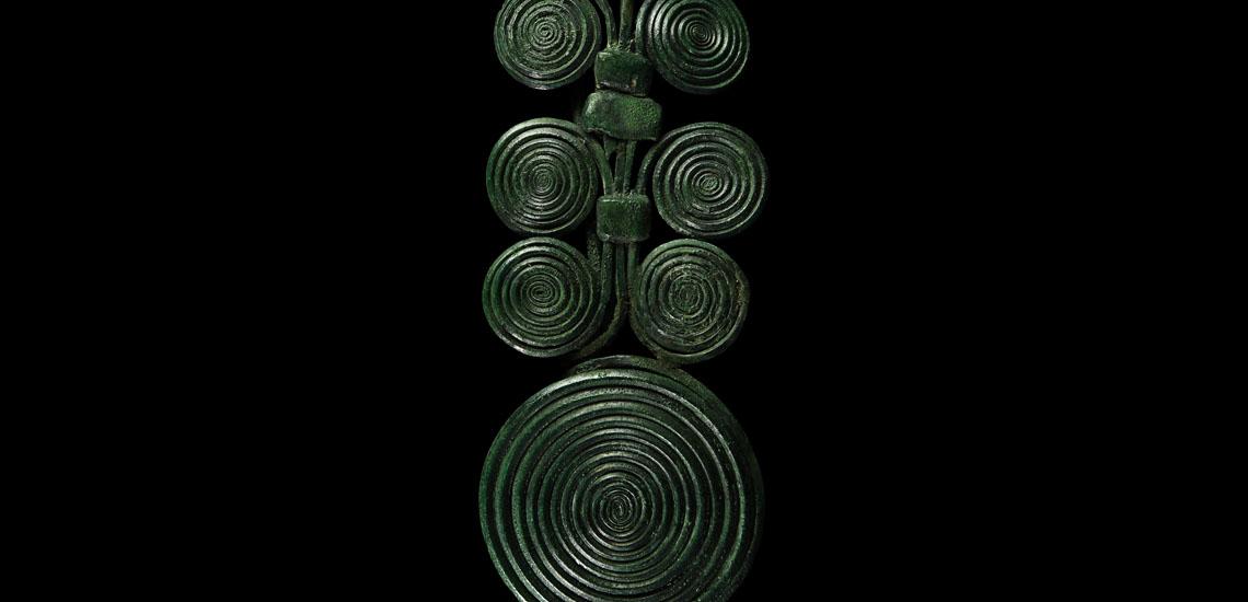 Large Bronze Age Posamenteriefibel Brooch